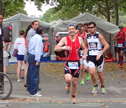 Course triathlon de Paris