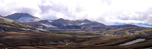 Panoramique Landmannalaugar - Hrafntinnusker