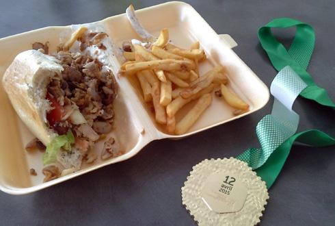 Marathon de Paris - après l'effort